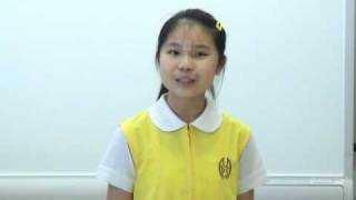 第十九屆香港兒童金口獎比賽 - 鄭子珀 - 我的健康人生 -