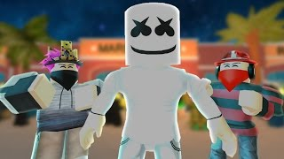 roblox bully story alone marshmello