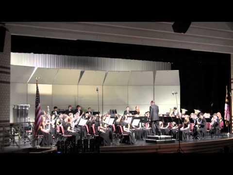 Marriotts Ridge HS Symphonic Wind Ensemble Spring Concert 2014