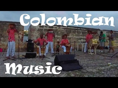 Traditional Colombian music in Cartagena's old town