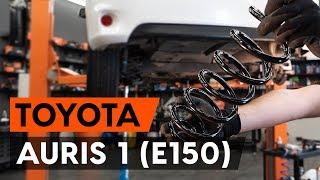 Comment remplacer ressort de suspension arrière sur TOYOTA AURIS 1 (E150)[TUTORIEL AUTODOC]
