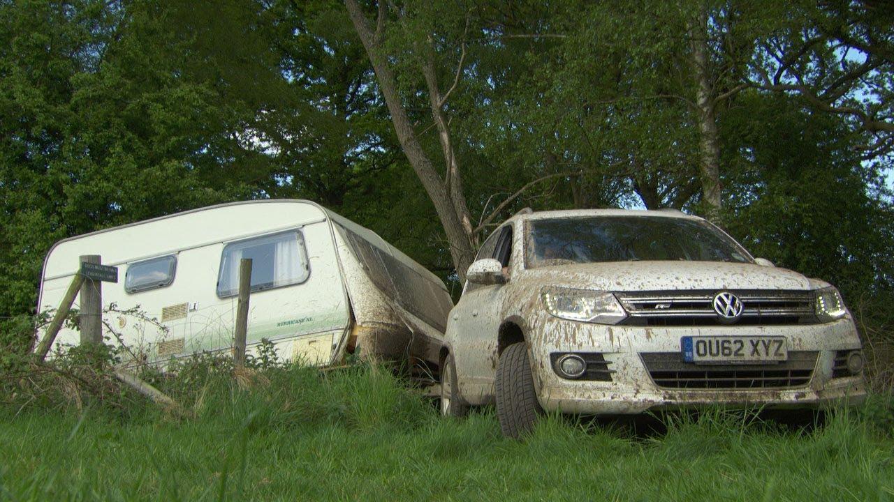 Top Gear S Backroads Caravan Race Action Replay Bbc