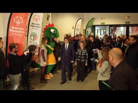 Visita del president Carles Puigdemont a l'EAA