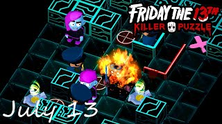Friday the 13th Killer Puzzle Daily Death July 13 2020 Walkthrough