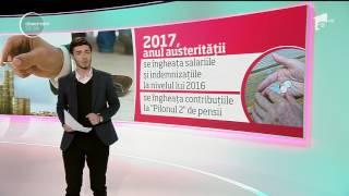 2017, anul austerităţii! Salarii îngheţate si drepturi amânate!