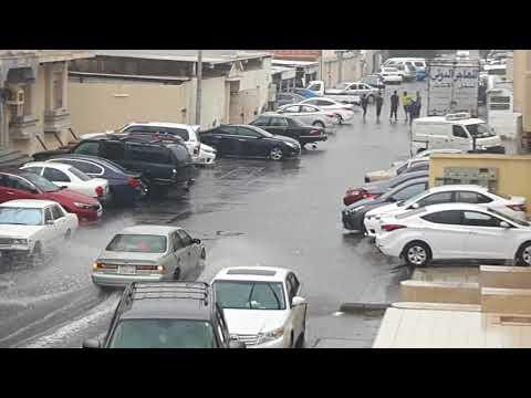 Rain in Jeddah Saudi Arabia 21 Nov 2017