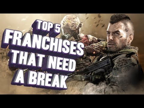 Top 5 - Game franchises that need to take a break