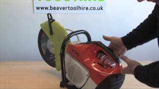 How To Use A Petrol Cut Off Saw For Steel, Wood, Masonary And Concrete