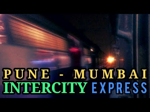THANE to CSMT MUMBAI : 12128 Pune - Mumbai Intercity Express | Speedy Intermediate Stations Skips