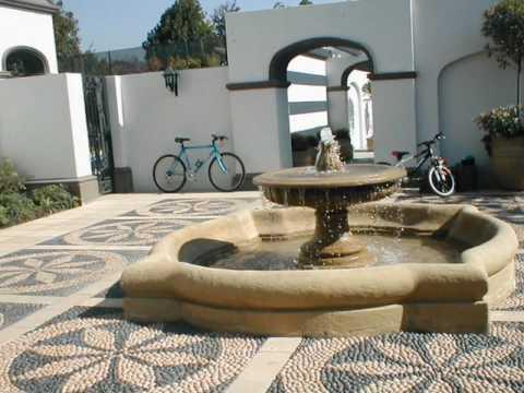 Piletas de agua la fuente del arrayan youtube for Construccion de piletas de agua