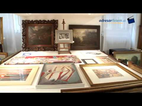 ART INVEST GROUP - auctions of art, Slovakia, paintings, antiques