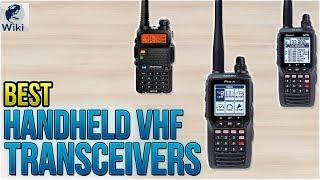 8 Best Handheld VHF Transceivers 2018