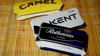 Как сделать карточки из пачек от сигарет Поделки 90 х Коллекционирование пачек от сигарет