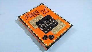 Beautiful Handmade Birthday Greeting Card Idea   DIY Birthday Card Idea   Tutorial