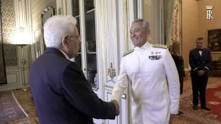 Mattarella - Guardia Costiera 153° anniversario della sua istituzione