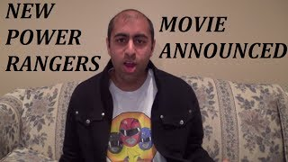 Ranger VLOG #20: NEW POWER RANGERS MOVIE ANNOUNCED!!!
