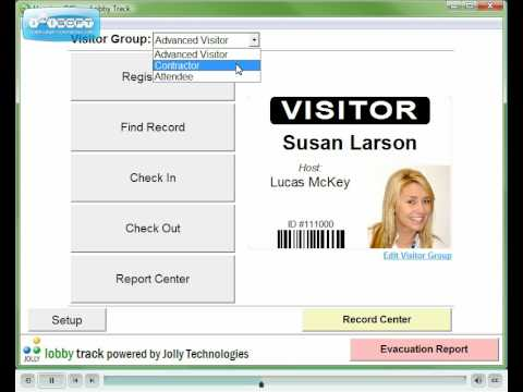 Visitor Registration Software - Lobby Track 6 - Customization of Forms