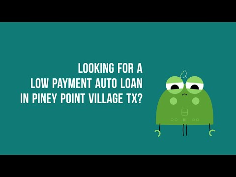 ZeroDown Auto Financing in Piney Point Village TX Bad Credit or Good Credit