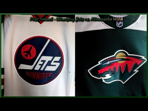 NHL Playoff Preview of Jets vs Wild