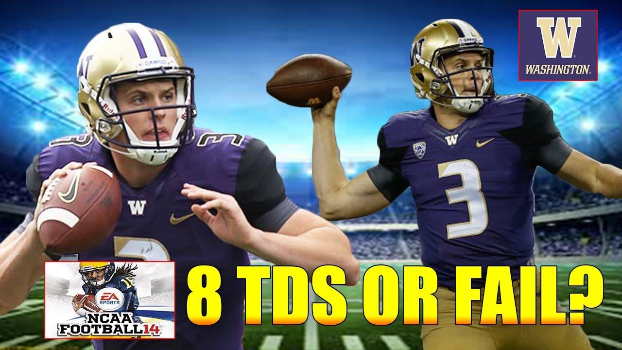 Jake Browning 8 Td Challenge Washington Vs Oregon Ncaa Football