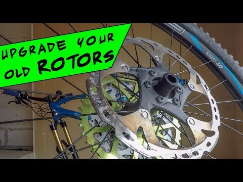 Upgrade Your MTB Brake Rotors | Install and Set Up  | Shimano XT-Saint RT86 Ice-Tech