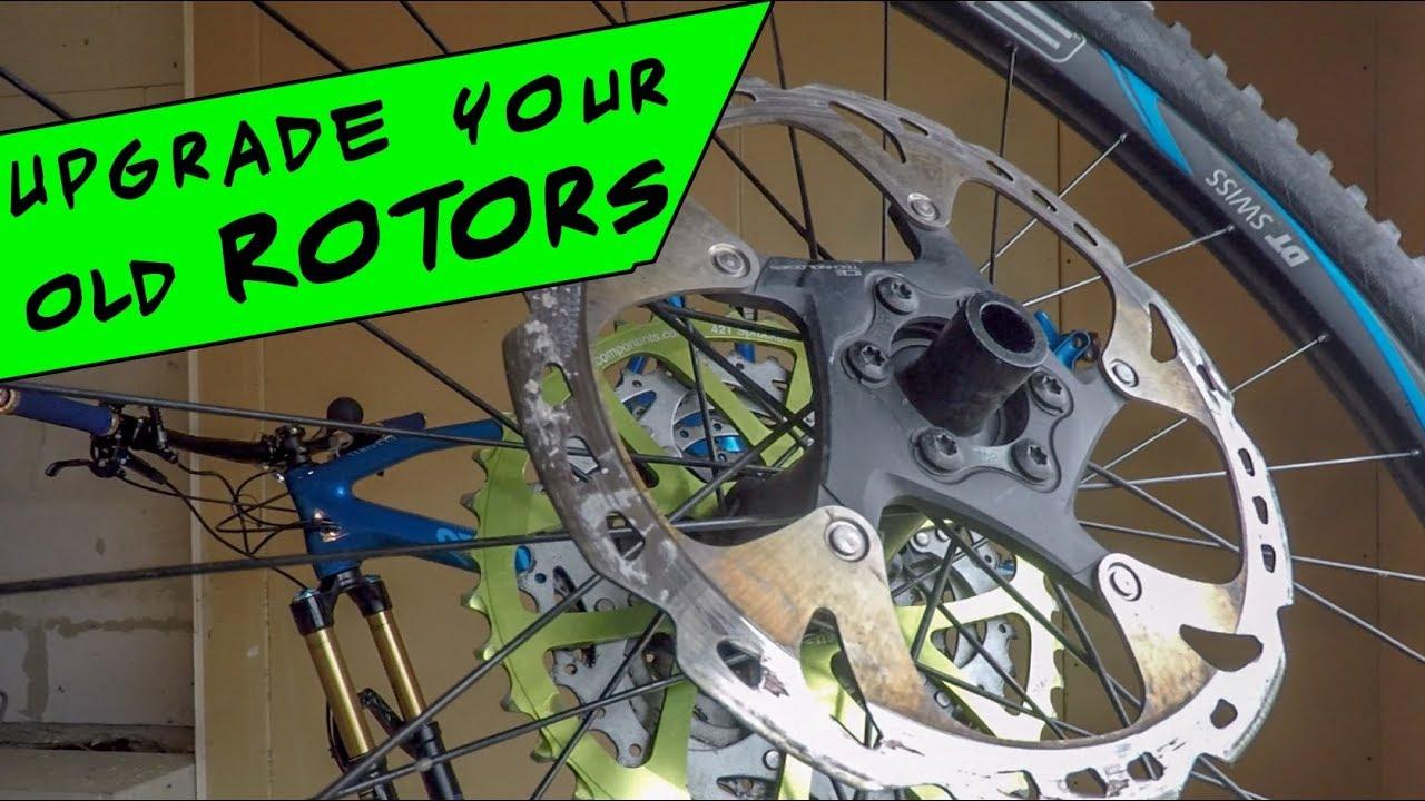 Upgrade Your Mtb Brake Rotors Install And Set Up Shimano Xt