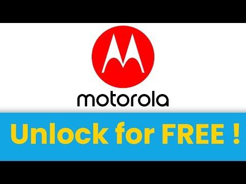 🔓 Unlock Motorola Phone For FREE 🤑 Motorola SIM Unlock Code