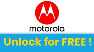 🥇 Unlock Motorola phone, AT&T, T-mobile, MetroPCS, Sprint, Cricket
