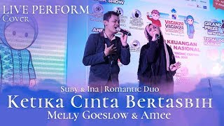 Download Ketika Cinta Bertasbih (OST KCB) | Suby-Ina (Romantic Duo) Live Cover