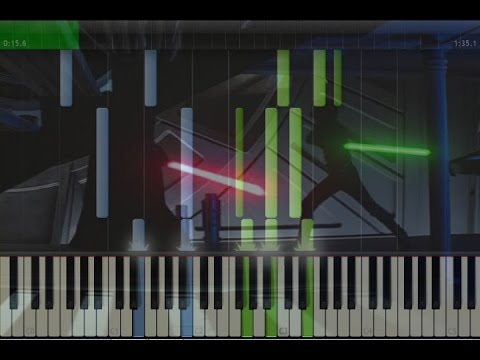 Star Wars -  Final Duel Theme Piano Tutorial