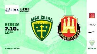 Záznam: MŠK Žilina B - FK Inter Bratislava 4:3 (2:2)