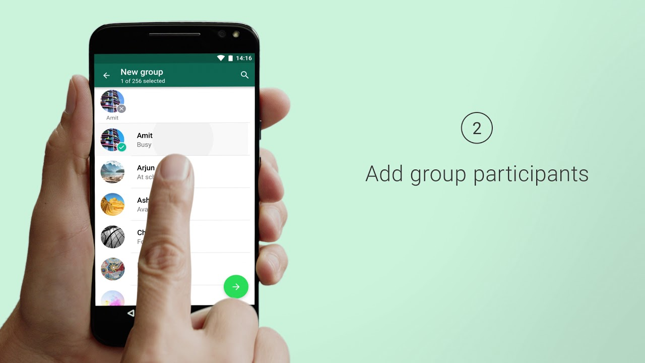 WhatsApp FAQ - Creating and inviting into groups