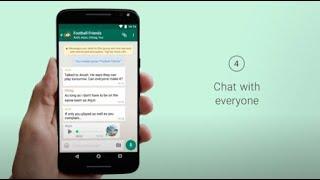 WhatsApp üzerinde bir grup yapmak için nasıl