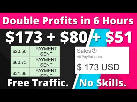 $173 + $132 in 6 Hours For Free | Easiest Way To Make Money Online (2021)