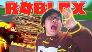 GA CAN NGALAHIN THE FASTEST RUNNER in ROBLOX!!! -Roblox Indonesia Dashing Simulator