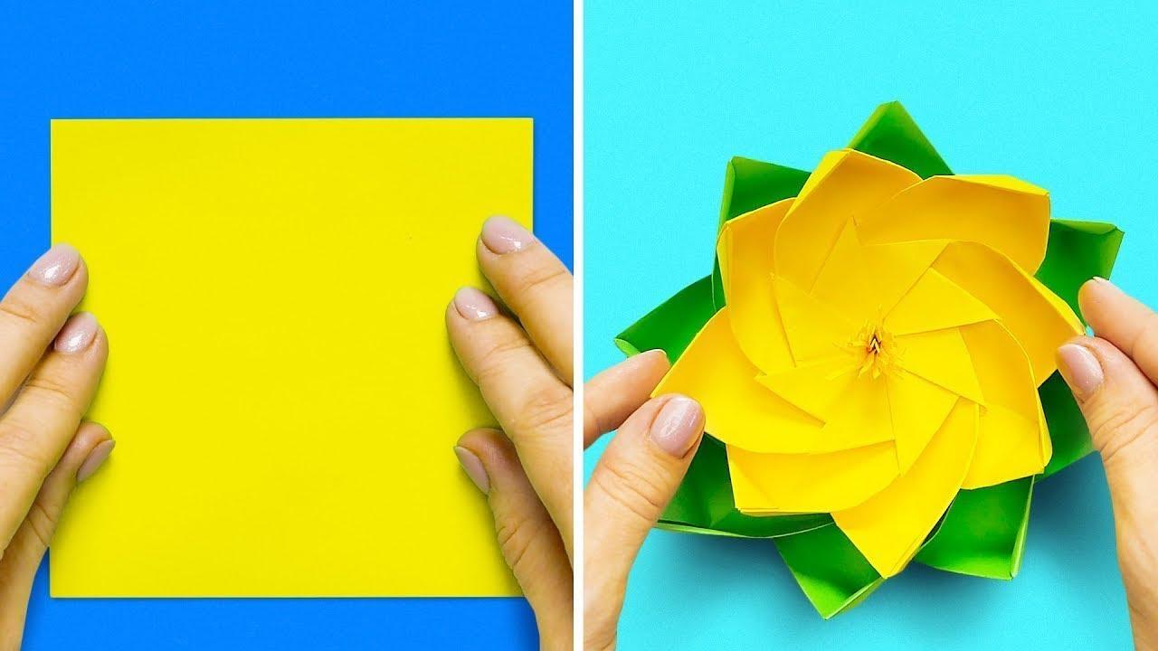 Cose Creative Con La Carta 13 semplici idee per fare origami di carta