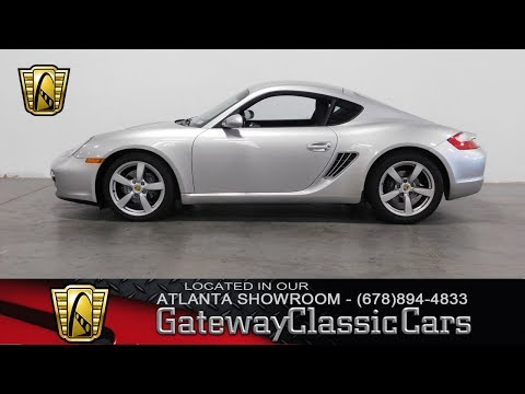 2007 Porsche Cayman - Gateway Classic Cars of Atlanta #359