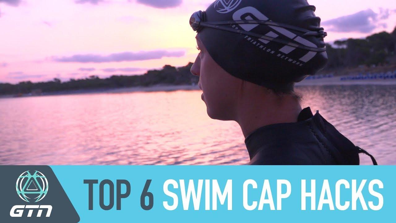174a6001ee8 Top 6 Swim Cap Hacks | Wear Your Swim Cap Like A Pro - YouTube