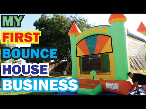 Getting My FIRST Bounce House to Start My Home Business