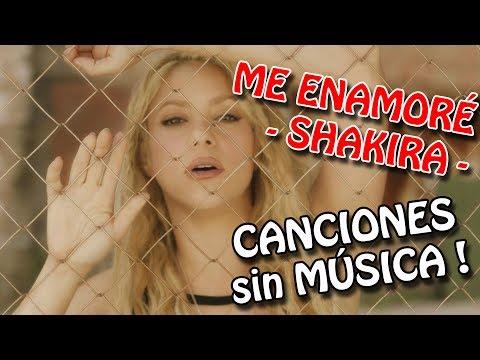 SHAKIRA - Me Enamoré [PARODIA] | CANCIONES sin MÚSICA - @YurpYT