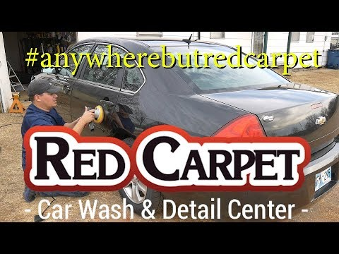 I Paid Red Carpet $175 to Detail / Screw up the 2012 Copart Impala