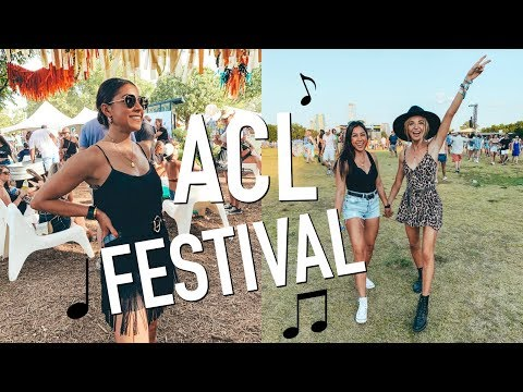 I Went To A Music Festival In TX! ACL In Austin, TX!