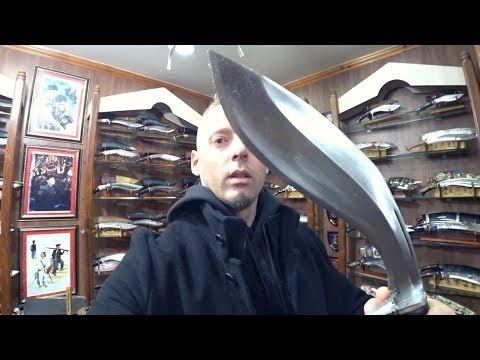 Nepal Knife Shop: $300 Kukri 🇳🇵