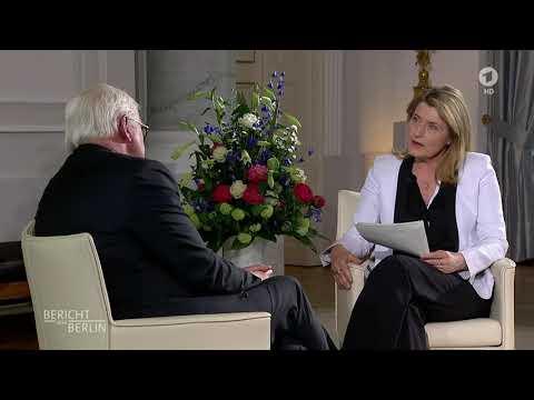 Bundespräsident Steinmeier im Bericht aus Berlin - Interview mit Tina Hassel am 6.5.2018