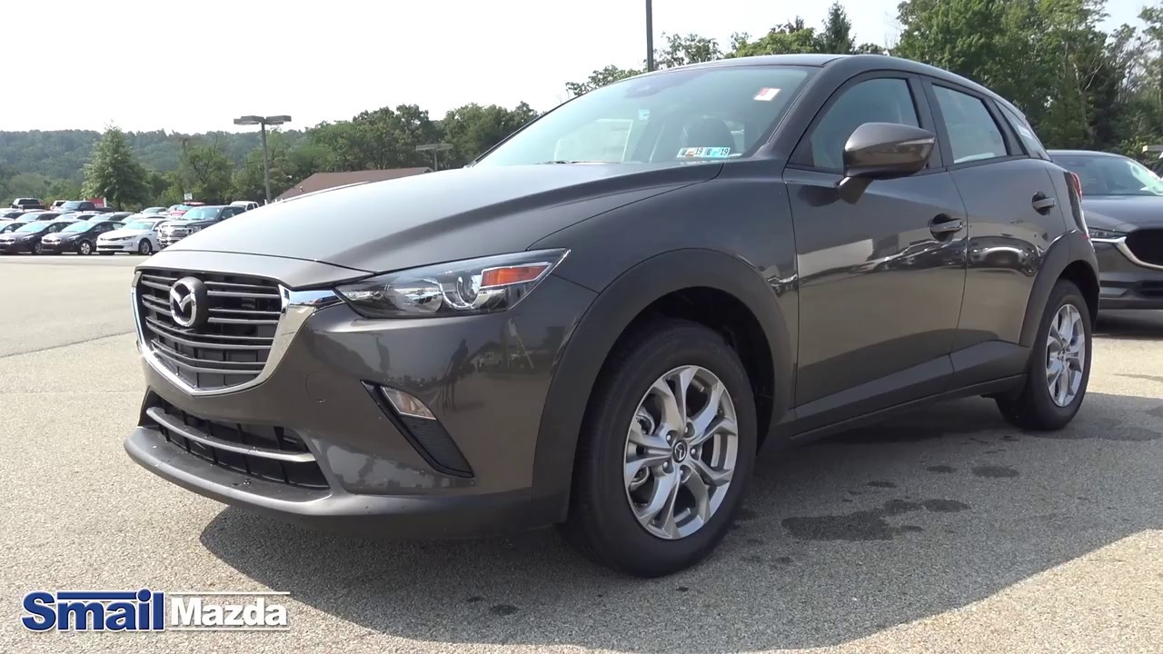 2019 mazda cx 3 sport fwd in titanitum flash mica youtube. Black Bedroom Furniture Sets. Home Design Ideas