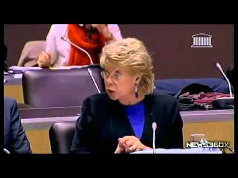 Quand Viviane Reding enterre les Nations (News360x)