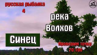 Русская рыбалка 4 рр4 река Волхов Синец