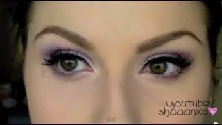 How To Apply False Eyelashes! ♡ Faux Lash Application :)