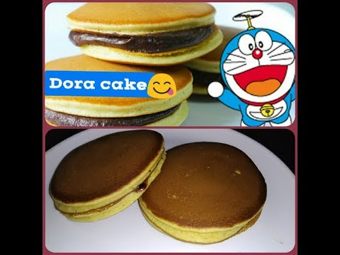 Home Made Dora Cake /dorayaki Recipe || Dora Pan Cakes Kids Favorite Food