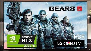Gears 5 Gameplay 4k 60Hz - LG OLED C9